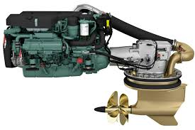 volvo penta tamd121c 415hp turboed 6 cyl marine diesel eng volvo new volvo penta 80 litre marine engine on show boatadvice