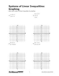 of equations graphing worksheet