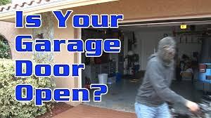 garage door open indicatorIs Your Garage Door Open  YouTube