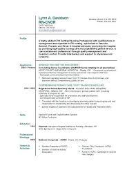Student Nurse Resume Template Nurses Resume Template Example Student Nurse Resume Free Sample
