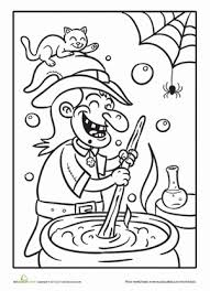 Small Picture Witchs Potion Coloring Page Worksheets Holidays and Witches