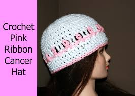 Crochet Chemo Hat Pattern Classy Crochet A Pink Ribbon Cancer Awareness Hat Crochet Jewel YouTube