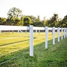 Flex Fence Flexible Vinyl Horse Fencing RAMM Horse Fencing Stalls