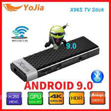 Smart TV Stick Android 9.0 TV Box X96S Amlogic S905Y2 DDR3 4GB 32GB X96  Mini PC 5G WiFi Bluetooth 4.2 TV Dongle 4K Media Player|Set-top Boxes