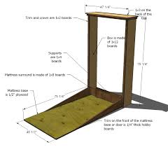 ana white plans a murphy bed you can build and afford to with regard king size hardware ideas 9