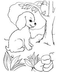 Puppies are the best, aren't they? Puppy Coloring Pages For Girls Coloring Home