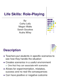 LifeSkills-- Role Play PPT | Role Playing | Life Skills
