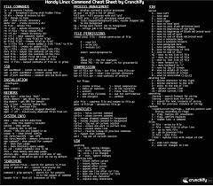 linux cheat sheet my favorite linux commands list of top 25 basic linux commands