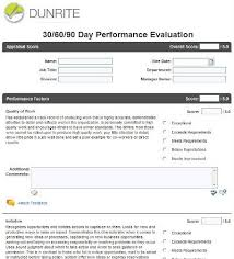 Creating Effective Employee Evaluation Forms In Halogen
