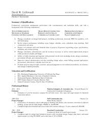 Project Manager Skills Resume For Study Awesome Collection Of Sample