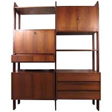 architecture mid century modern wall unit contemporary modular for ello at 1stdibs regarding 0