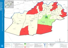 Office Coverage Afghanistan District Accessibility For Kandahar Area Office