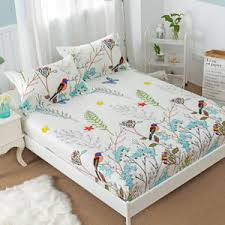 100 cotton bed sheets.  Sheets Image Is Loading PrintedBedSheetwElasticBand100Cotton On 100 Cotton Bed Sheets H