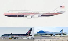 Trump Air Force One Design Trump Shows Off New Air Force One Design That Changes Jackie