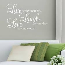 live laugh love wall stickers es