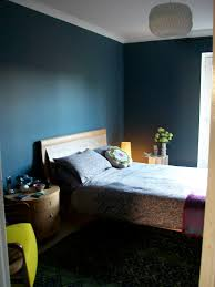 My Dark Blue Bedroom Walls Steel Symphony  Dulux Anthropologie - Dark blue bedroom