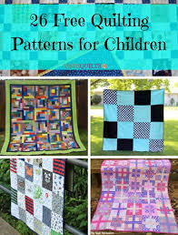 26 Free Quilting Patterns for Children | FaveQuilts.com &  Adamdwight.com