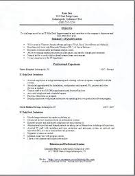Desktop Support Resume Examples Rabotnovreme Extraordinary Desktop Support Resume