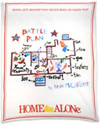 home alone poster battle plan. Delighful Alone NECA Home Alone Fleece Throw Battle Plan Blanket Intended Poster