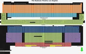 Organized Orpheum Theater San Francisco Seating Chart