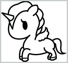 Cute Kawaii Unicorn Coloring Pages Cute Unicorn Coloring Pages