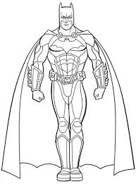 Small Picture My Family Fun Batman coloring pages Print and color your superhero