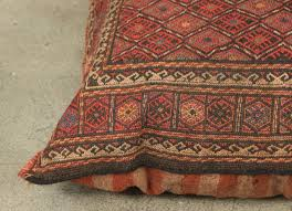 moroccan floor pillows. Exellent Pillows Middle Eastern Turkish Tribal Kilim Floor Pillow In Good Condition For Sale  Los Angeles And Moroccan Pillows