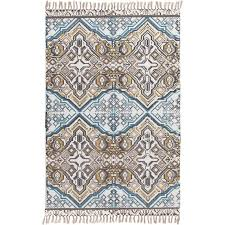 surya idina 4 x 6 hand woven cotton rug