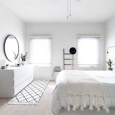 bedroom and more. White Minimalist Bedroom More And T