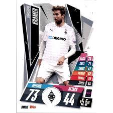 Christoph kramer (born 19 february 1991) is a german professional footballer who plays as a defensive midfielder forborussia m'gladbach and the german national team. Bmg15 Christoph Kramer Basis Karte 2020 2021 0 39