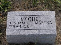 Benjamin McGhee (1789-1856) - Find A Grave Memorial