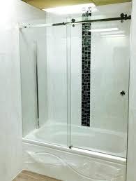 frameless bypass shower door sliding glass doors home depot kohler bath oil rubbed bronze koh