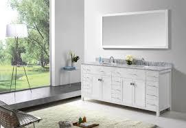 White Bathroom Vanity Cabinet Virtu Usa Caroline Parkway 78 Bathroom Vanity Cabinet In White