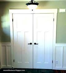 bifold closet door knobs placement pulls decorative for
