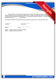 Mediation Agreement Template Free Printable Arbitration Or Mediation Agreement Legal Forms Free 21