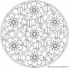 Colorare Mandala Disegno Mandalas Mandalas76a95 013