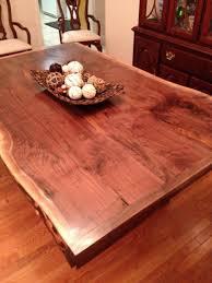 raw edge dining table. Raw Edge Dining Table