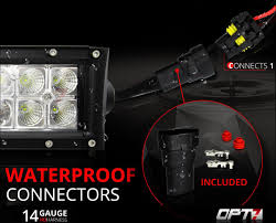 amazon com opt7 led light bar wiring harness 14 gauge 380w wiring Whelen Lights Diagram amazon com opt7 led light bar wiring harness 14 gauge 380w wiring