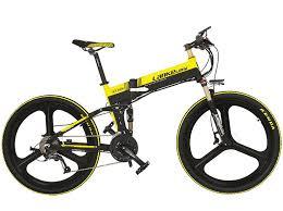 <b>LANKELEISI XT750</b> Z Foldable E Bike <b>26 inch 27</b> Speeds Hydraulic ...