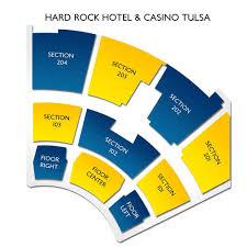 Hard Rock Tulsa Seating Chart Hardrock The Joint Tulsa Seating Chart The Joint Hard Rock