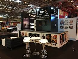 Bespoke Display Stands Uk 100m x 100m display stand with U shaped counter 99