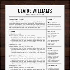 Instant Resume Templates Interesting Downloadable Resume Templates Word 48 Free Downloadable Resumes