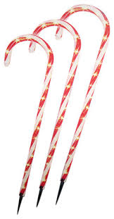 Candy Cane Yard Decorations Lighted Candy Canes 100 Eye Candy 79