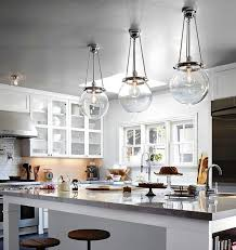 clear glass pendant lights for kitchen island uk