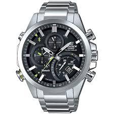 Купить кварцевые <b>часы Casio</b> Edifice <b>Eqb</b>-<b>501d</b>-<b>1a</b> Grey в ...