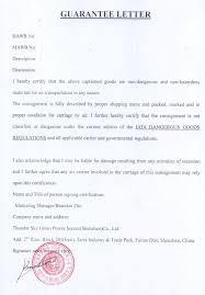 100 Guarantee Letter Template Job Offer Letter Content Job