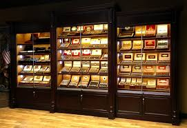 as you can see by the above photo the addition of the led under shelf display lighting really enhances the presentation of your cigars