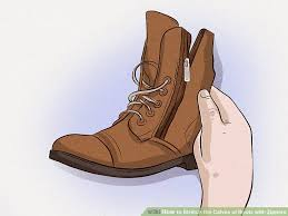 image titled stretch the calves of boots with zippers step 1