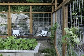 modern deer fence for your garden