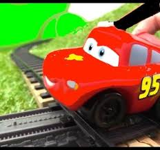 toy car videos. Modren Toy TRAIN SCHOOL  Lightning McQueen Toy Cars And Trains Videos For Kids  Cartoons Video By Ploopchannel  Fawesometv Car